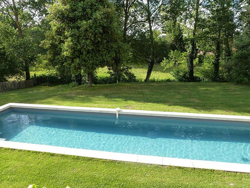 Sur place - la piscine
