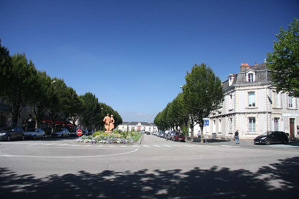 La gare de La Roche sur Yon