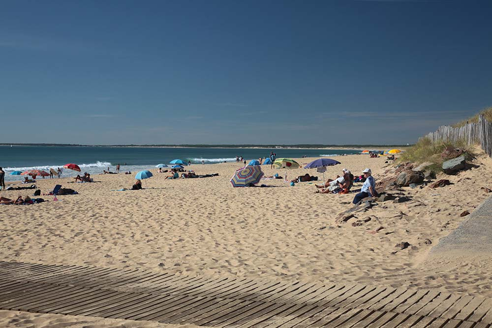 Longeville sur Mer - plage des Conches